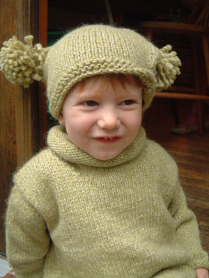 Baby Alpaca Pullover Sweater